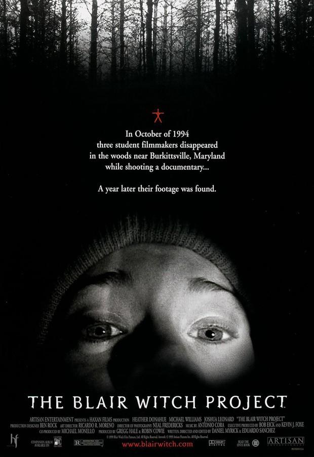 Heather Donahue nmo cartaz de 'A Bruxa de Blair' (1999) (Foto: Reprodução)