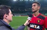 Rafael Marques fala da importância da vitória do Sport sobre o Palmeiras