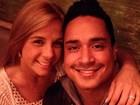 Carla Perez e Xanddy comemoram doze anos de casados no Chile