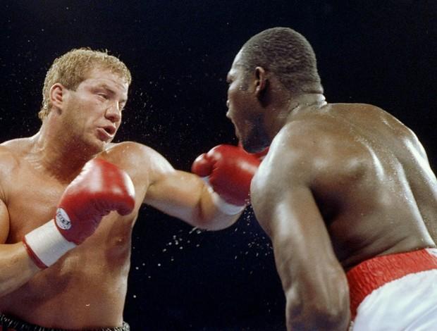 boxe tommy Morrison e Carl Williams (Foto: Agência Getty Images)