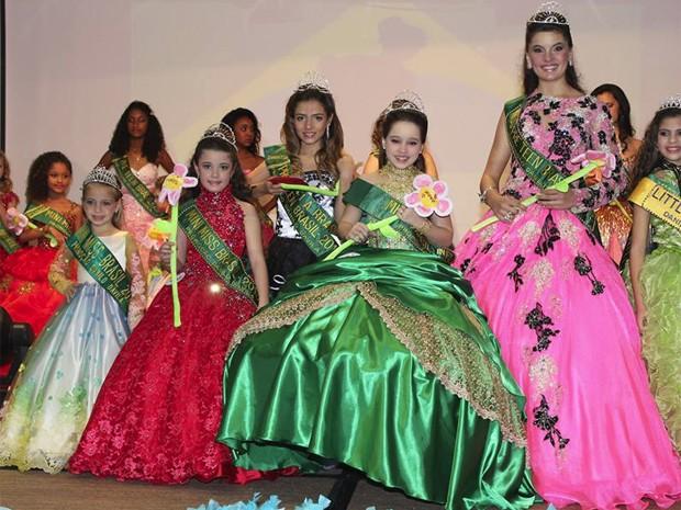 Concurso Cinderela do Brasil acontece em paralelo ao Miss Brasil Infantil (Foto: Arquivo Pessoal/Suzy Régis)