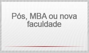 selo - pós, MBA ou nova faculdade (Foto: G1)