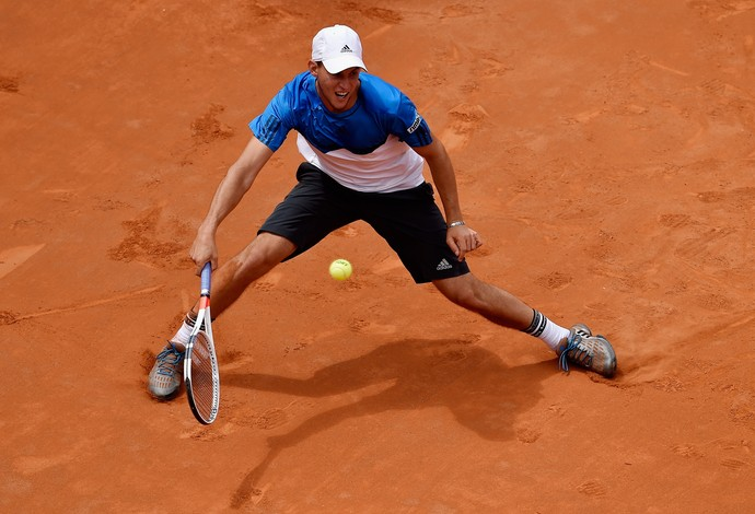Dominic Thiem x Roger Federer Masters 1000 de Roma tênis (Foto: Getty Images)