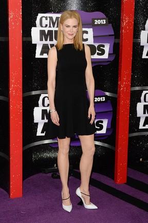 Nicole Kidman em premiação nos EUA (Foto: Rick Diamond/ Getty Images/ AFP)