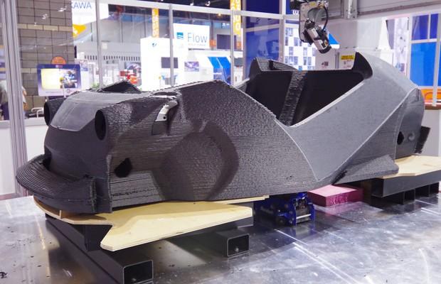 Strati, carro feito com impresora 3D pela empresa Local Motors (Foto: Local Motors/ Divulgação)