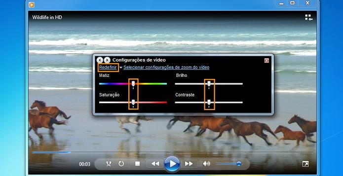 Se precisar você pode redefinir o padrão do vídeo (Foto: Reprodução/Barbara Mannara)
