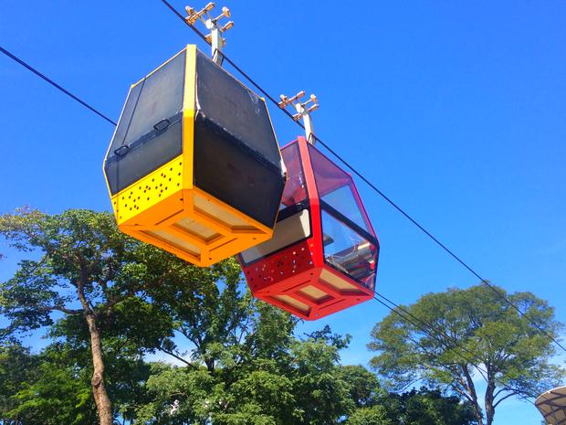 Segundo Agetul, Goiânia deve ter o primeiro teleférico a partir do dia 15 de abril, em Goiás (Foto: Murillo Velasco/G1)