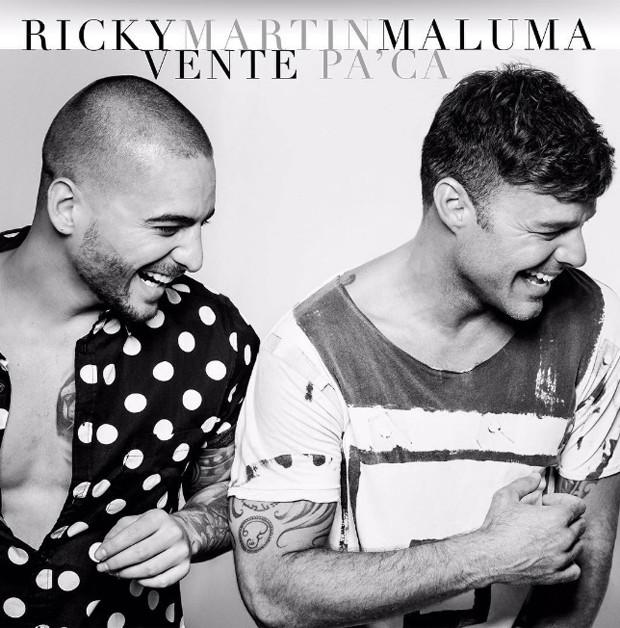 Maluma e Ricky Martin (Foto: Reprodução)