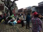 MST faz protesto em Curitiba contra o governo federal e por reforma agrária