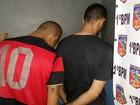 Dupla é presa com arma após assalto a residência em Porto Velho