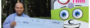 Apcap SP tem 16 ganhadores e quase R$ 50 mil em prêmios