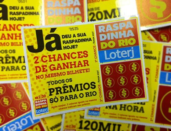 Raspadinha do Rio (Foto: Divulgação/Loterj)