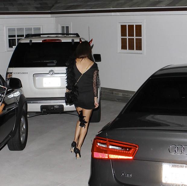 Selena Gomez  comemora aniversario em Hollywood - X17 (Foto: X17/Agência)