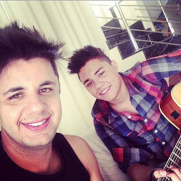 Felipe e Cristiano Araújo (Foto: Reprodução/Instagram)