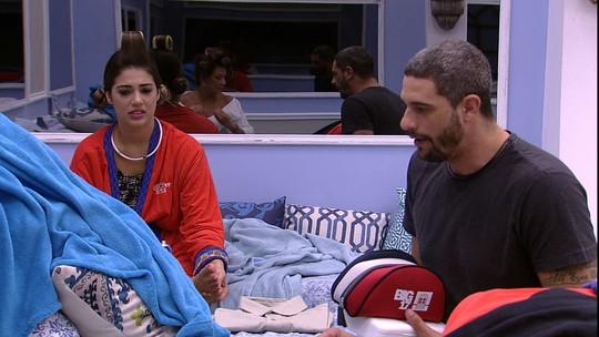 Vivian elogia comida de Daniel: 'Eu gostei do seu arroz'