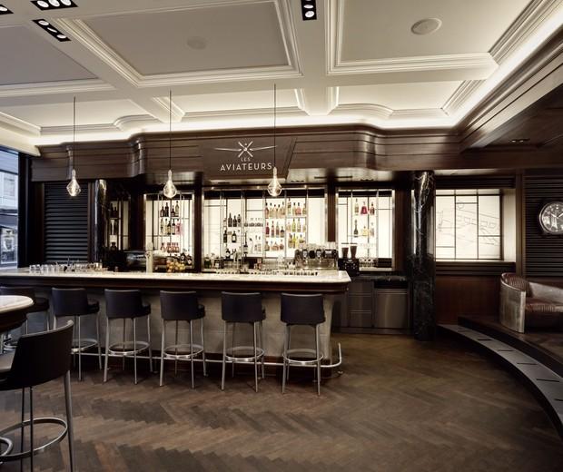 O novo bar da IWC em Genebra (Foto: Divulgação)