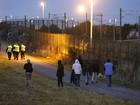Polícia registra mais de mil tentativas de imigrantes de entrar no Eurotúnel