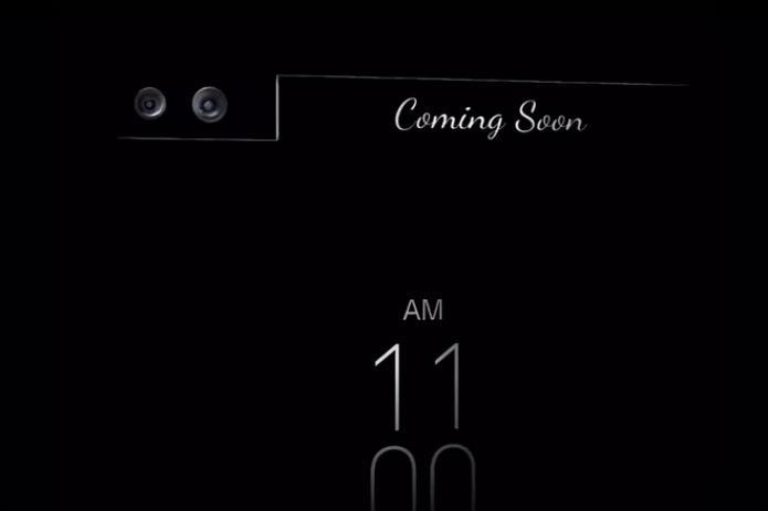 LG divulga primeiro teaser de seu novo foblet Premium, o V10 (Foto:Divulgação/LG)