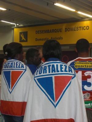 Família Genilson zagueiro do Fortaleza Rio de Janeiro (Foto: Thaís Jorge)