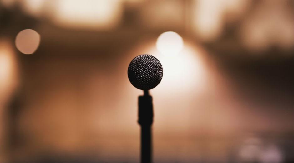 Palestra, microfone, apresentação, falar em público (Foto: Pexels)