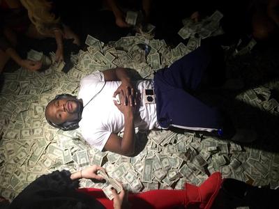 Floyd Mayweather; dinheiro (Foto: Reprodução Instagram)