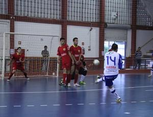 Suzano Futsal vence São Bernardo (Foto: Thiago Fidelix / Globoesporte.com)