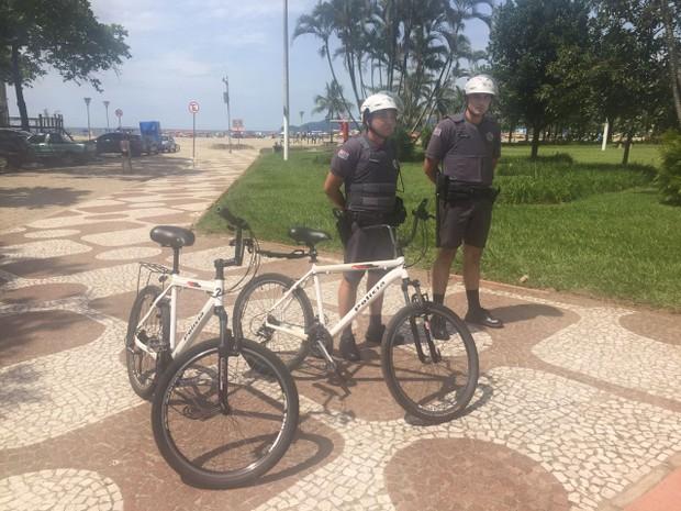 Suspeitos foram detidos durante Operação Verão em Santos (Foto: Divulgação/Prefeitura de Santos)