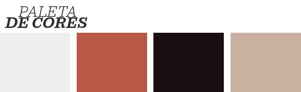 Décor do dia: Quarto branco e vermelho com parede de aquarela (Foto: Divulgação)