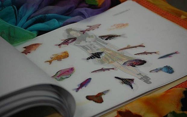 Melissa desenhou figurinos para eventos como o Festival Amazonas de Ópera (Foto: Arquivo Pessoal)