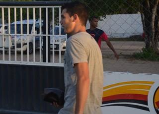 Jean, Botafogo-PB (Foto: Edgley Lemos / GloboEsporte.com)