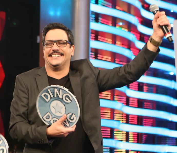 Lucio Mauro Filho e Renata Gaspar vencem o Ding Dong (Foto: Carol Caminha/Gshow)