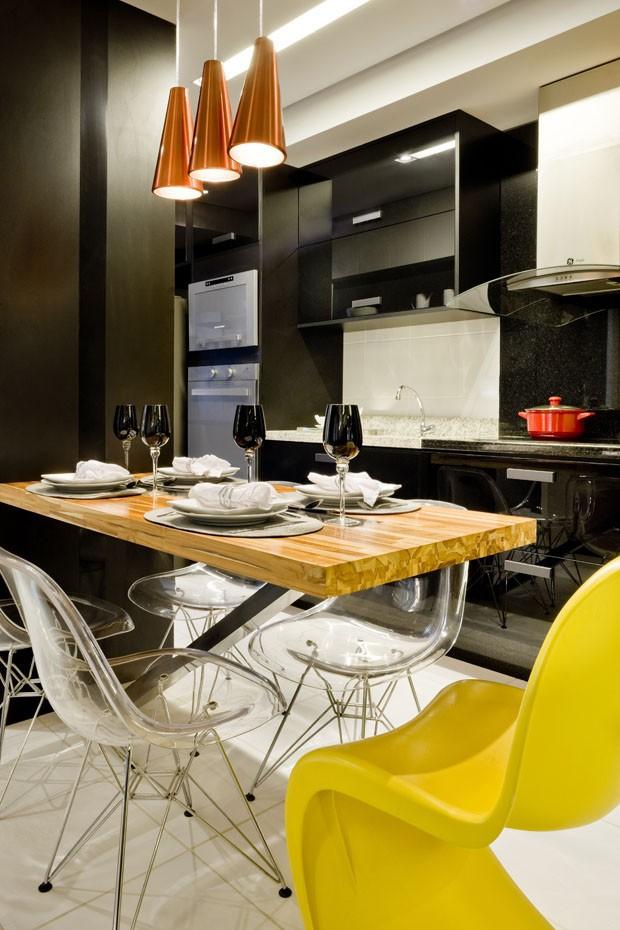 Apartamento pequeno inpirado na Pop Art (Foto: Edgard Cesar / divulgação)