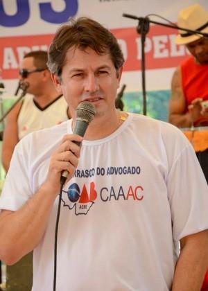 João Augusto está preso na sala de Estado Maior no Quartel da Polícia Militar (Foto: Divulgação/OAB)