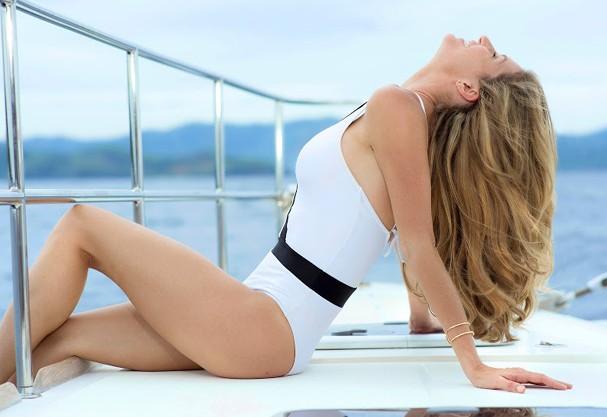 Gisele na campanha de verão 2015 da Pantene (Foto: Divulgação)