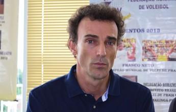Roraima recebe visita de Emanuel, campeão olímpico de vôlei de praia