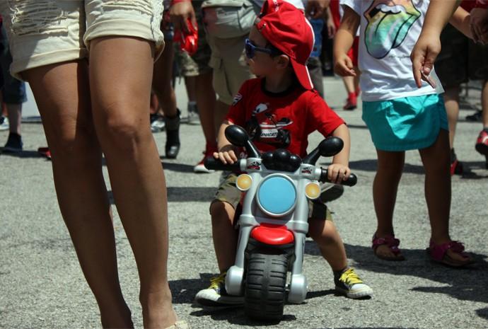 Moto é admirada em outros países, como a Itália