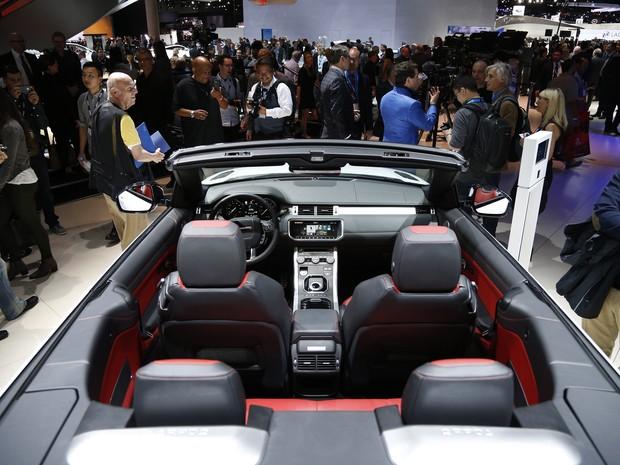 Range Rover Evoque Conversível (Foto: AP Photo/John Locher)