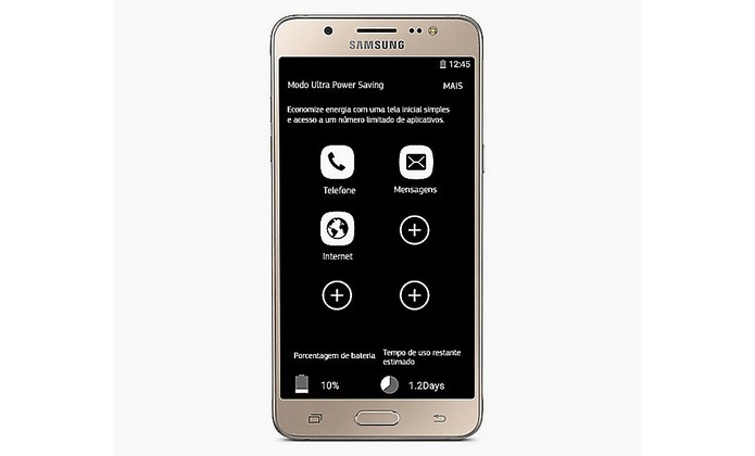 Galaxy J5 Metal tem bateria do 3.100 mAh e modo de economia de energia (Foto: Divulgação/Samsung)