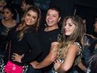 Anamara curte noite com Preta Gil em boate carioca
