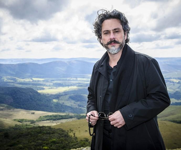 Alexandre Nero deu vida ao Comendador na novela 'Império' (Foto: Globo/Alex Carvalho )