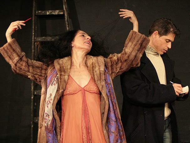 Com 25 anos de parceira, Mariana Muniz e Rubens Caribé dividem o palco (Foto: Divulgação)