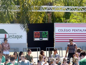 Resultado final da pelada (Foto: Malhação / TV Globo)