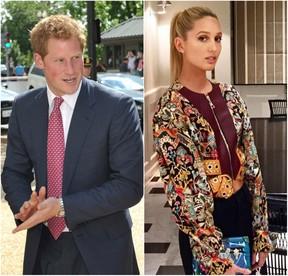 Príncipe Harry e Princesa Maria-Olympia da Grécia  (Foto: AFP/Reprodução/Instagram)