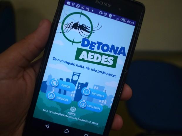 Aplicativo, focos, Aedes aegypti, Detona Aedes, Macapá, Amapá, (Foto: Fabiana Figueiredo/G1)