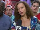 Jandira Feghali diz que vai apoiar o trabalhador informal no Rio