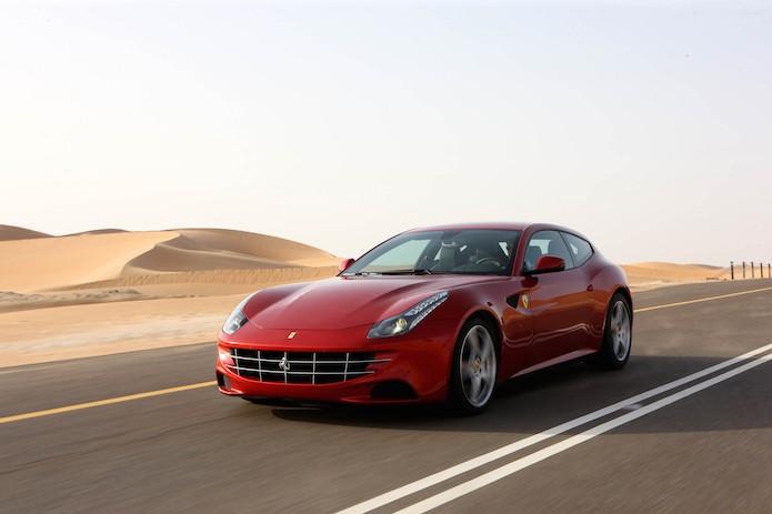 Ferrari FF tem motor V12 (Foto: Divulgação/Ferrari)