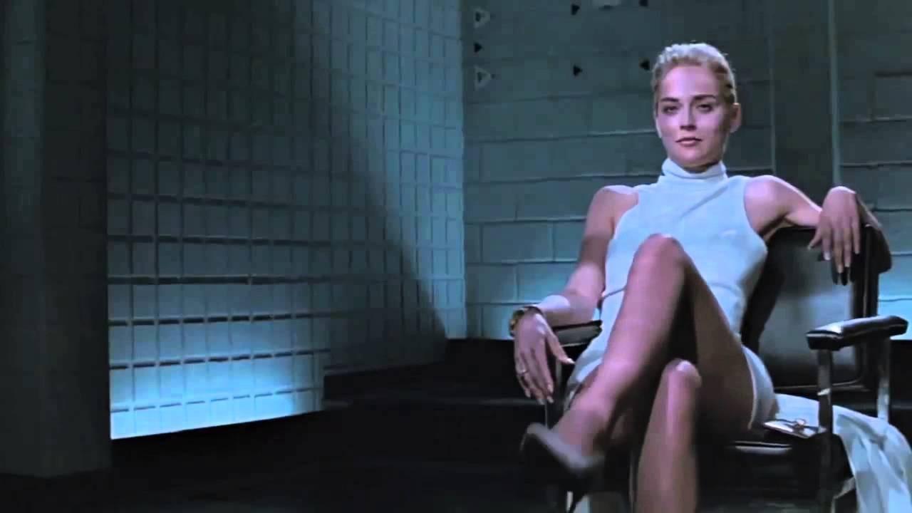 Sharon Stone em 'Instinto Selvagem' (1992) (Foto: Reprodução)