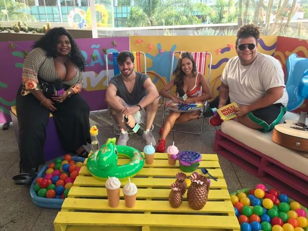 Gabi Luthai e T3ddy so os convidados de Gominho e Jojo Todynho na live do TVZ Vero desta tera (23) (Foto: Multishow)