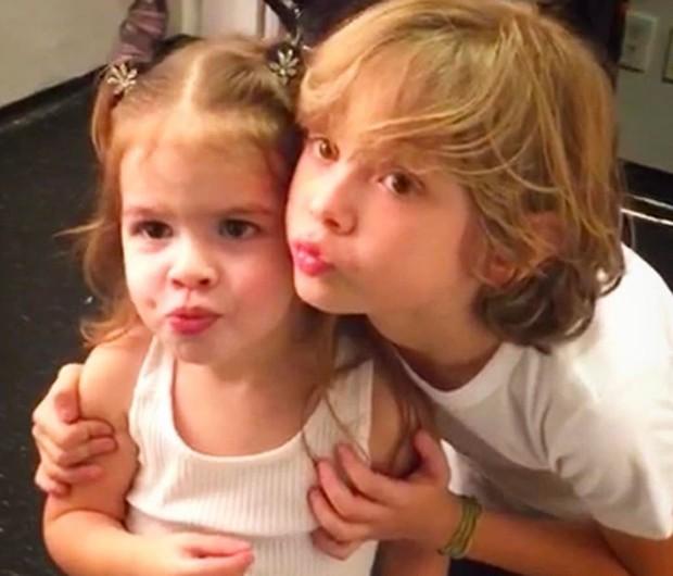 Valentina e Vittorio (Foto: Reprodução/Instagram)