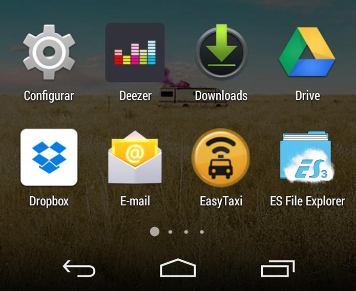Falha no Android permitia trocar ícones de apps e levar usuário a sites de phishing (Foto: Reprodução/Paulo Alves)